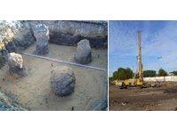 Kolumny betonowe ze stopą żwirową (FSS) - zdjęcie