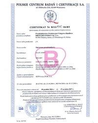 Certyfikat Solart przenośny - S1A-P i S1B-P - zdjęcie