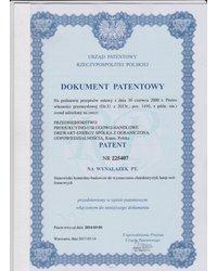 Patent na Stanowiasko kontrolno-badawcze do wyznaczania charakterystyk lamp wolframowych - zdjęcie
