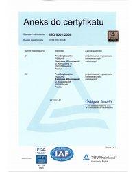 Aneks do certyfikatu - zdjęcie