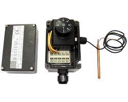 Przeciwwybuchowy termostat z kapilarą typu PTK (250V, 16A) - zdjęcie