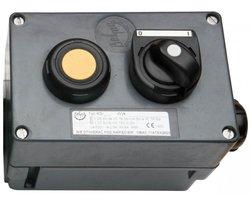 Przeciwwybuchowa kaseta sterownicza typu KS-2 (500V, 2,5A) - zdjęcie