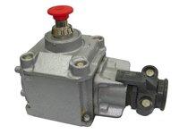 Ognioszczelny przycisk sterowniczy z napędem grzybkowym blokowanym typu PP-62A (500V, 6A) - zdjęcie