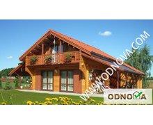 Drewniane domy całoroczne - zdjęcie