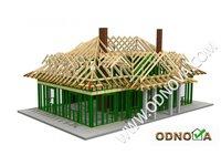 Domy drewniane szkieletowe - zdjęcie