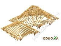 Prefabrykowane więźby dachowe - zdjęcie