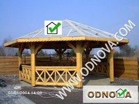 Drewniane altany - zdjęcie