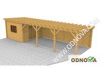 Drewniane wiaty i garaże - zdjęcie