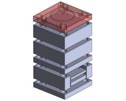 Płyta mocująca standardowa z otworem centrującym - Korpusy do form - zdjęcie