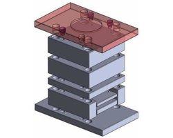 Płyta mocująca wydłużona z otworem centrującym - Korpusy do form - zdjęcie