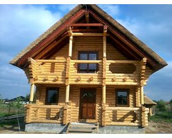 Domy z bali - zdjęcie