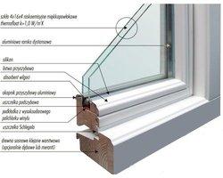 Okna drewniane w systemie skandynawskim - zdjęcie
