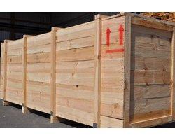 Skrzynie drewniane - zdjęcie