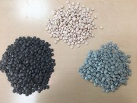 Regranulat LDPE kolor - workowce - zdjęcie