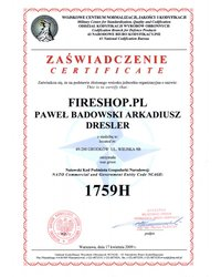 Certyfikat Wojskowego Centrum Normalizacji, Jakości i Kondyfikacji - zdjęcie