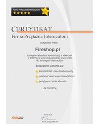 Certyfikat Firmy Przyjaznej Internautom - zdjęcie