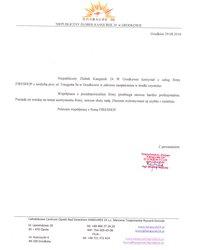 Referencje Niepublicznego Żłobka Kangurek 24 w Grodkowie - zdjęcie