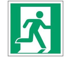 Znak wyjście ewakuacyjne - zdjęcie