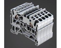 Złączki listwowe TOPJOB S z bezpieczną technologią zacisku Push-in CAGE CLAMP - zdjęcie