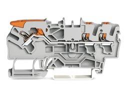 Złączka przelotowa 3-przewodowa złączka przelotowa z dźwignią i przyciskiem TOPJOB® S - zdjęcie