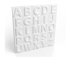 Panele styropianowe 3D - ALFABET - zdjęcie