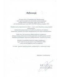 Referencje firmy EJ Przedsiębiorstwo Wielobranżowe - zdjęcie