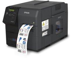 Kolorowe drukarki do etykiet Epson ColorWorks C7500 - zdjęcie