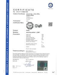 Certyfikat E2M - zdjęcie