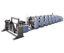 Maszyna fleksograficzna 5-kolorowa z sekcją tłoczenia FM-B920 - zdjęcie