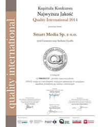 Srebrne Godło Najwyższa Jakość Quality International 2014  - zdjęcie