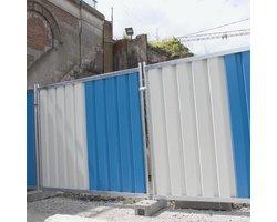 Ogrodzenia tymczasowe budowlane pełne - zdjęcie