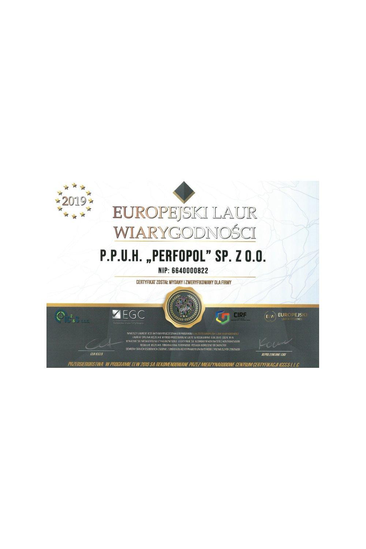 Europejski Laur Wiarygodności - zdjęcie