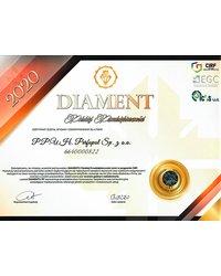 Certyfikat Diamenty Polskiej Przedsiębiorczości - zdjęcie
