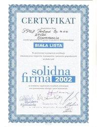 Solidna Firma 2002 ''Biała Lista'' - zdjęcie