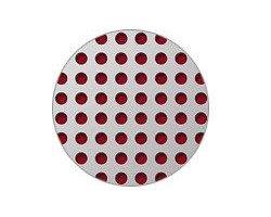 Blachy perforowane: otwory cylindryczne - układ prosty - zdjęcie