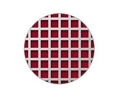Blachy perforowane: otwory kwadratowe układ prosty - zdjęcie