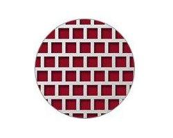 Blachy perforowane: otwory kwadratowe układ mijany - zdjęcie