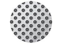 Blachy perforowane: otwory miseczkowe układ 45° - zdjęcie
