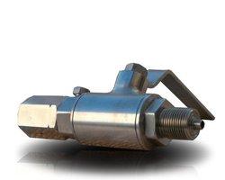 Zawór kulowy manometryczny - zdjęcie