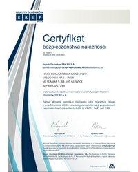 Certyfikat bezpieczeństwa należności - zdjęcie