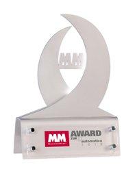 Nagroda MM Magazynu Przemysłowego na targach AUTOMATICA - zdjęcie