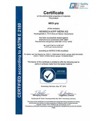 Certyfikat Quality Labs - zdjęcie
