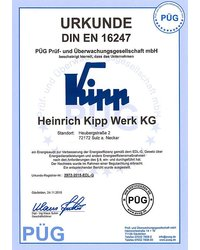 Certyfikat DIN EN 16247 - zdjęcie