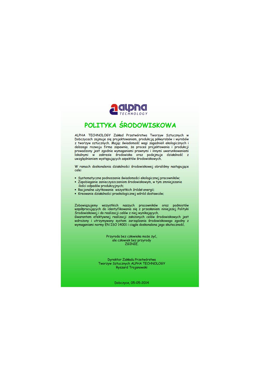 Polityka środowiskowa - zdjęcie