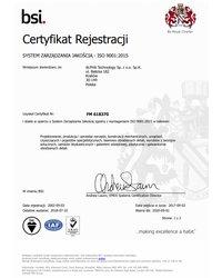 System Zarządzania Jakością ISO 9001:2008 - zdjęcie