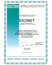 Generalny Przedstawiciel PEGAS GONDA s.r.o. - zdjęcie