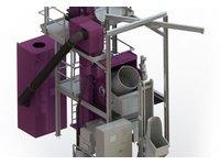 Urządzenia bębnowe do obróbki strumieniowej - zdjęcie