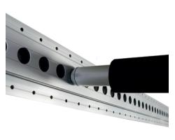 Okrągłe belki zabezpieczające z powłoką gumową S-Line - zdjęcie