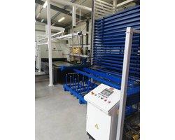 Automatyczny system załadowczo odbiorczy blach o wymiarach 1500x3000 - zdjęcie