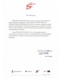 Referencje ŚWIĄTEK Lech Świątek - zdjęcie